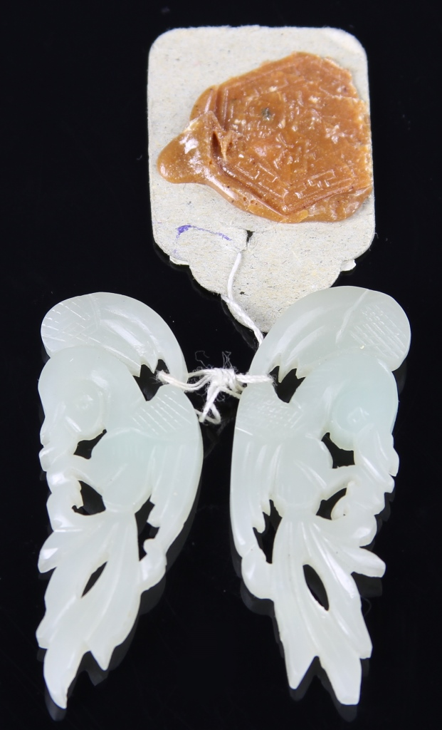 Pair of Antique Chinese Earrings