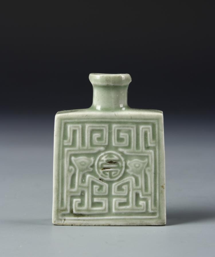 Chinese Lungquan Snuff Bottle