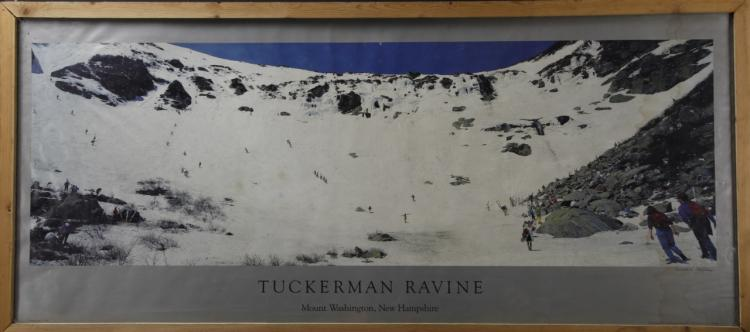 Photograph Of Tuckerman Ravine