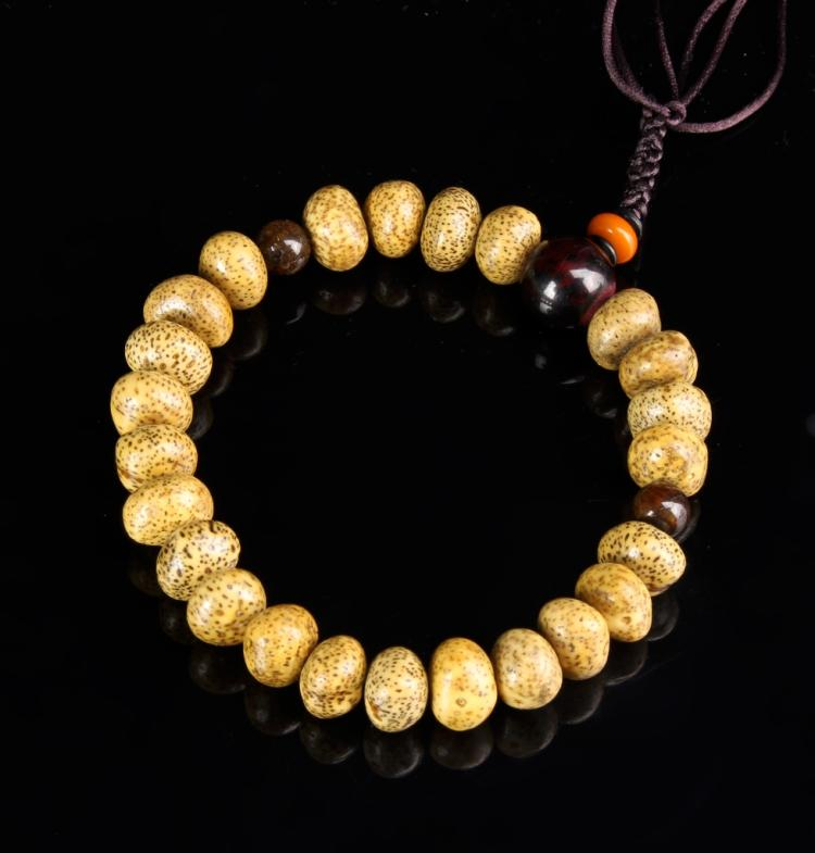 Chinese Tibetan Puti Beaded Prayer Beads