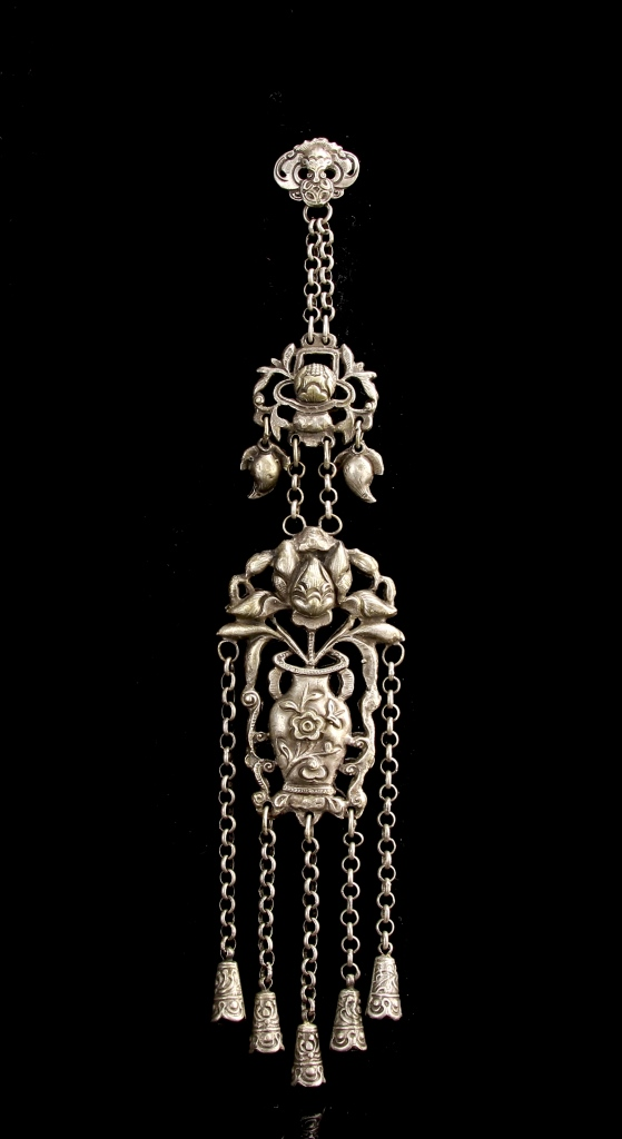 Chinese Silver Pendent