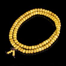 Chinese Wood Beaded Necklace