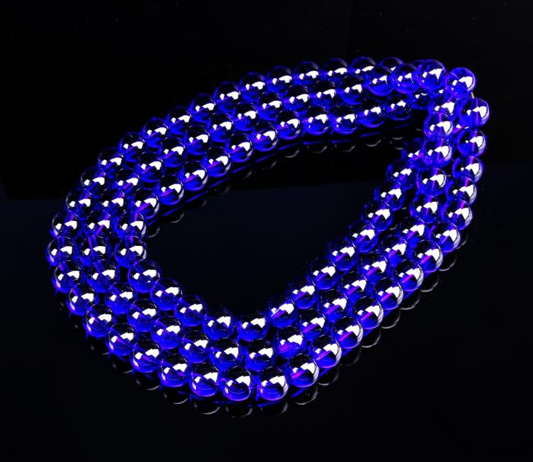 Chinese Crystal Beaded Necklace