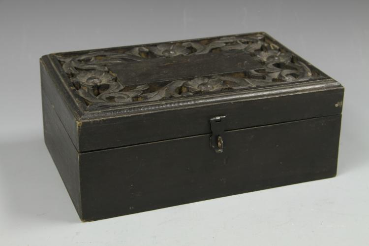 Chinese Wood Jewelry Box