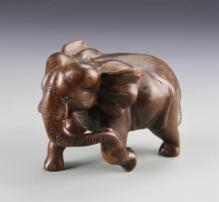 Chinese Rosewood Elephant