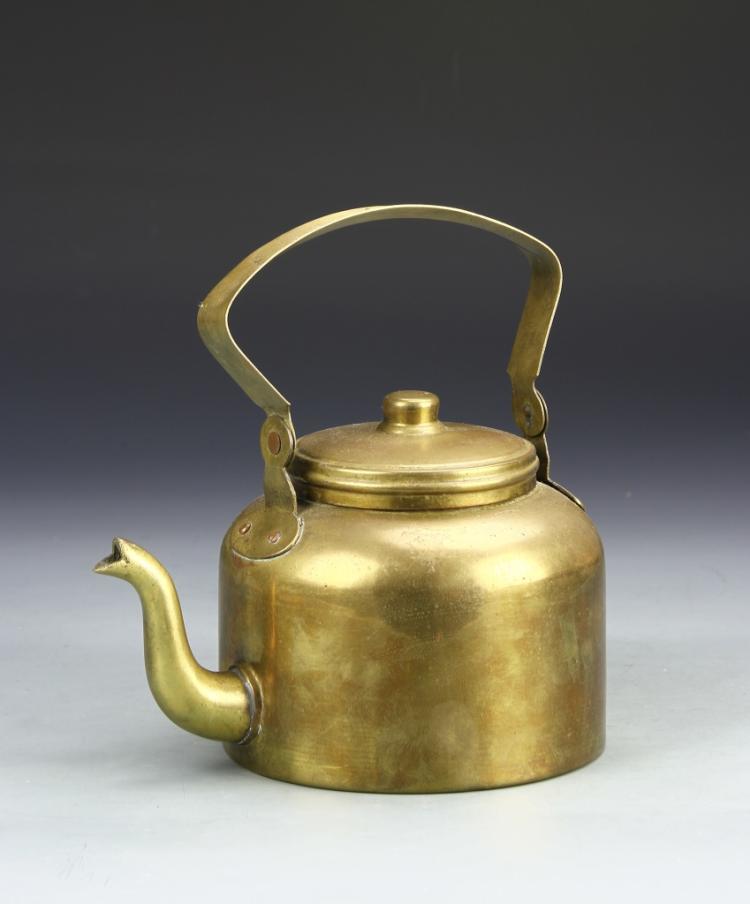 Chinese Brass Teapot
