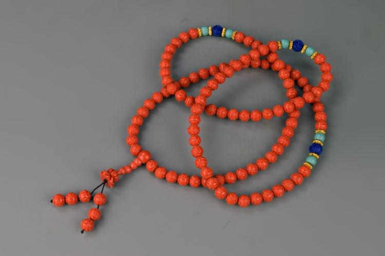 Chinese Tibetan Prayer's Beads