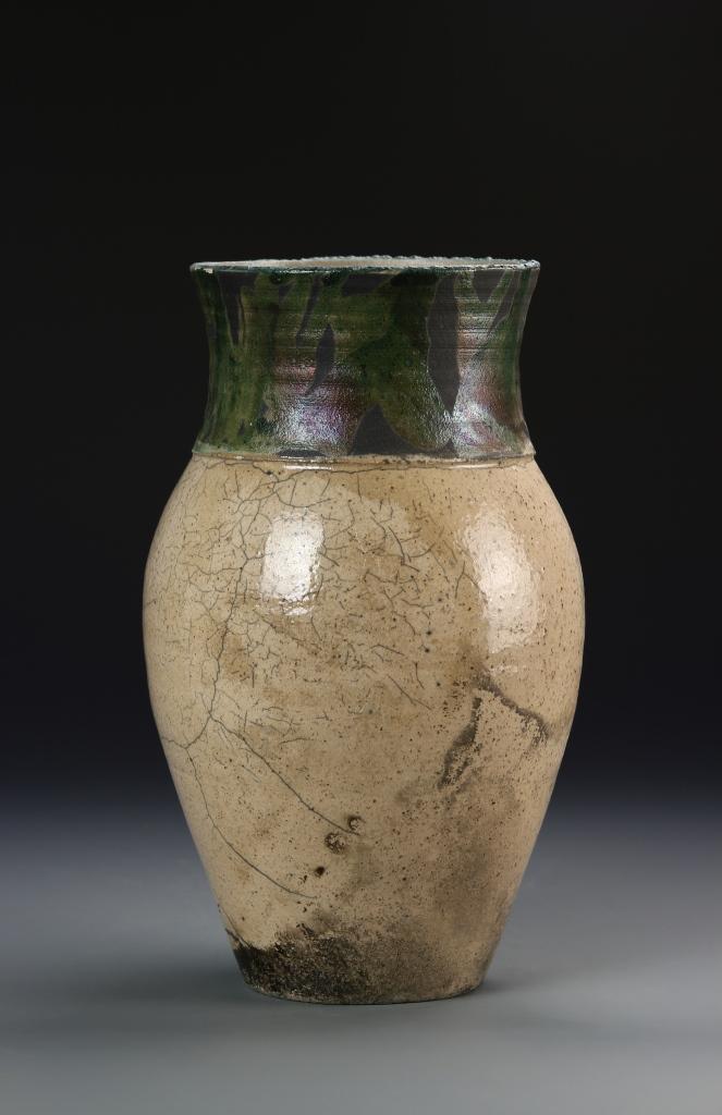 Pottery Jar signed on base