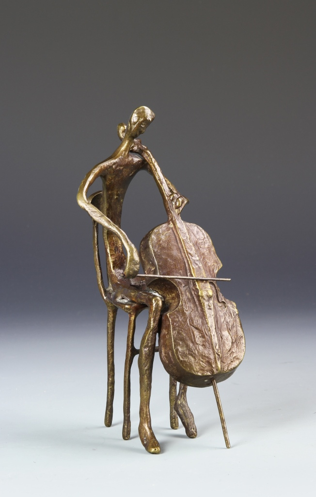 Bronze Musician