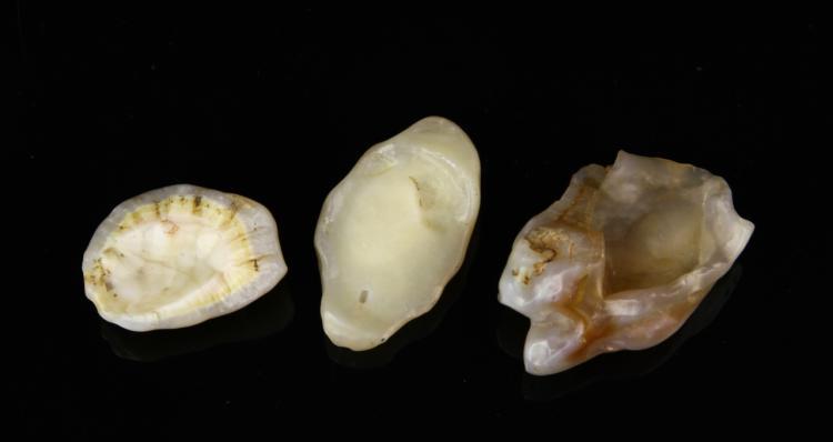 Three Chinese Scholar's Rocks