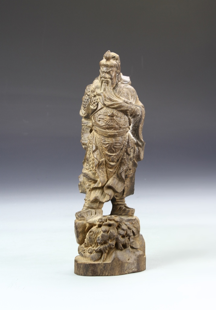 Chinese Hardwood Figure