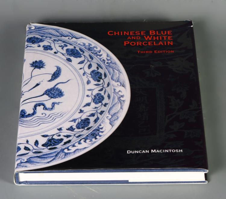 Book, Chinese Blue and White Porcelain