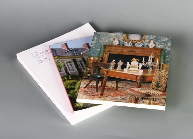 Three Christies Auction Catalogues