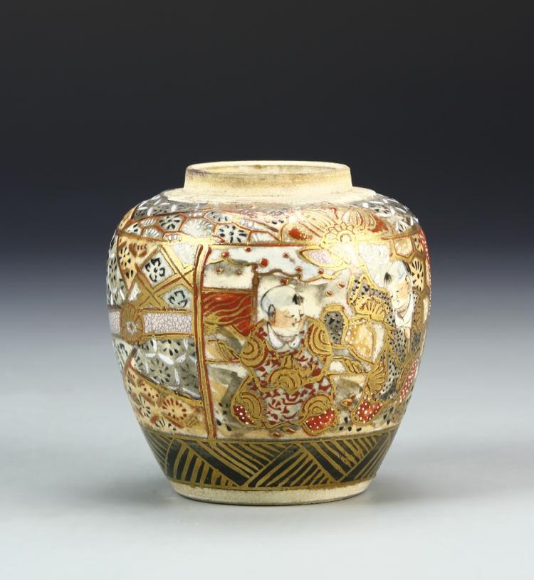 Japanese Satsuma Jar