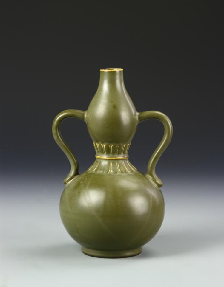 Chinese Teadust Vase