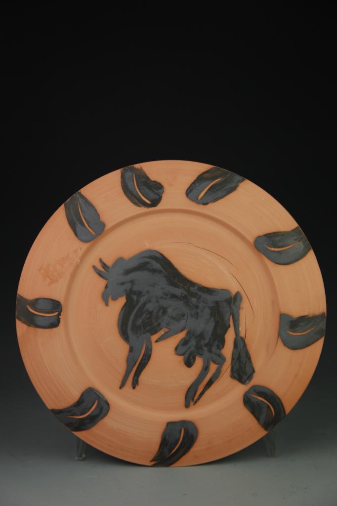 Picasso Terricata Bull Plate