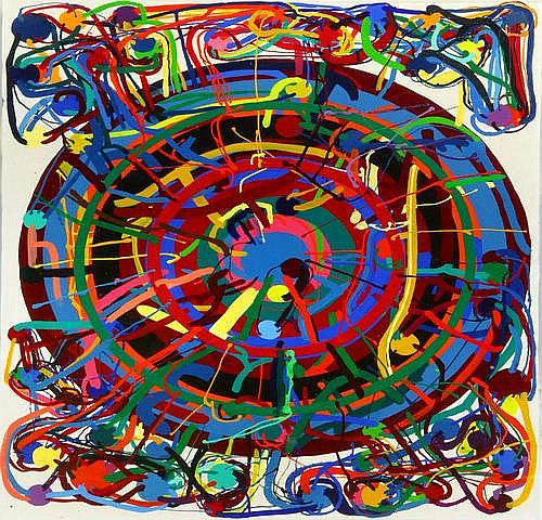 Atsuko Tanaka 1932~2005) TITLE: Untitled