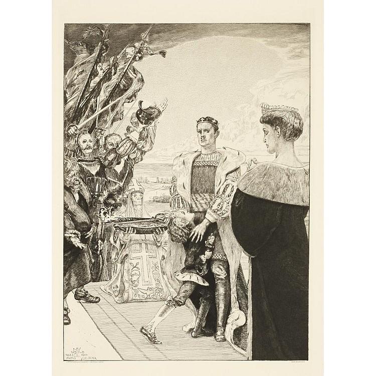 KLINGER Max(1857-1920) VOM TODE II, OPUS