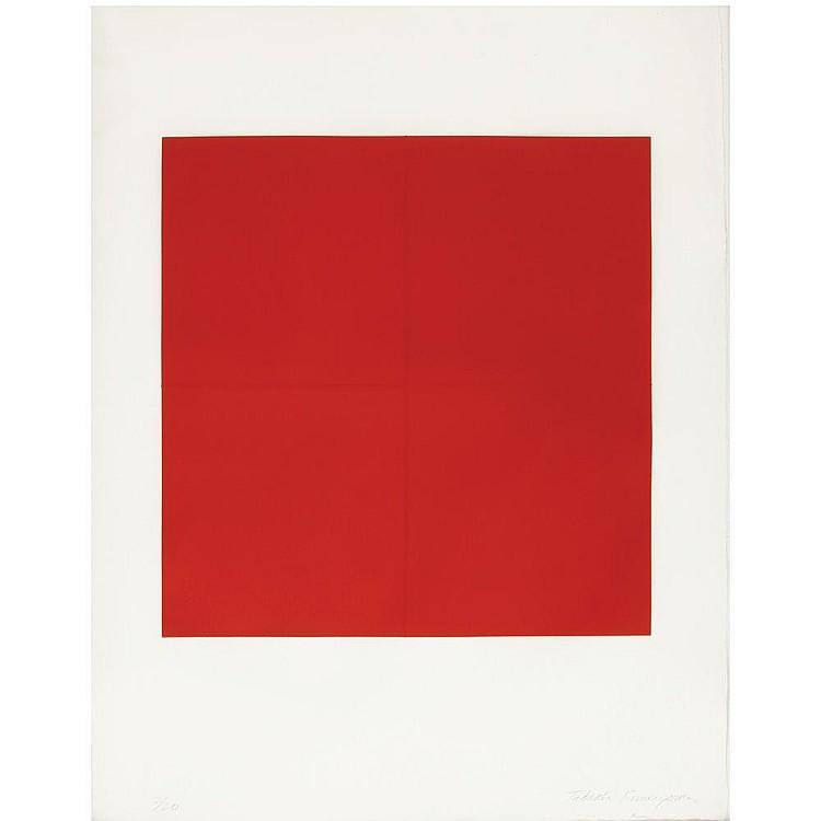 KUWAYAMA Tadaaki(1932-) RED