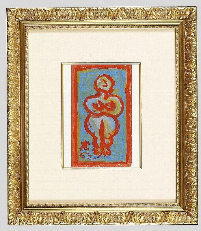 ARTIST: Ryuzaburo Umehara TITLE: WOMAN PORTRAIT