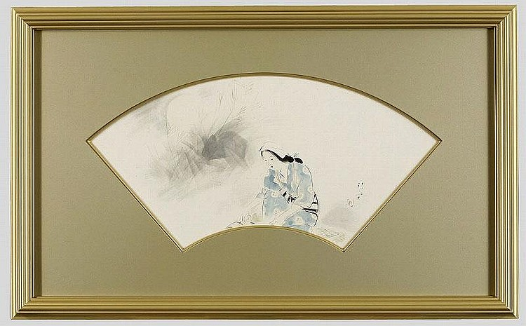 ARTIST: Kiyokata Kaburagi TITLE: A WOMAN IN