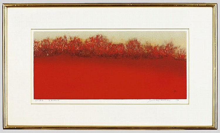 ARTIST: Joichi Hoshi TITLE: COPSE ON THE HILL