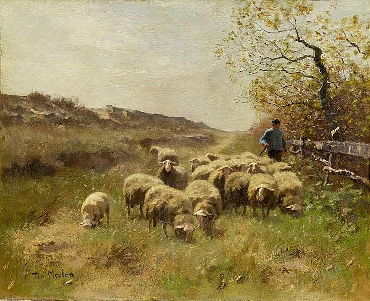 ARTIST: Frans Pieter Ter Meulen(1843~1927) TITLE: