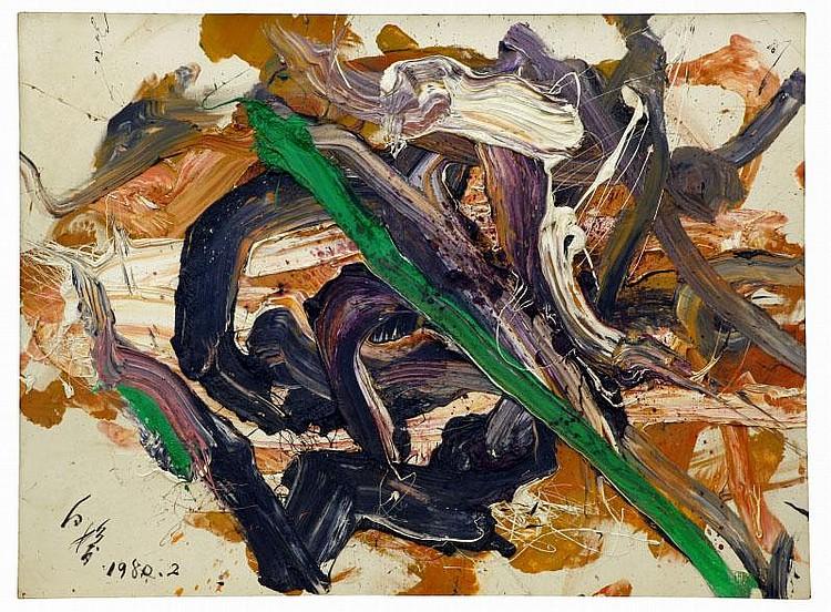 ARTIST: Kazuo Shiraga (1924-? TITLE: Kanyo