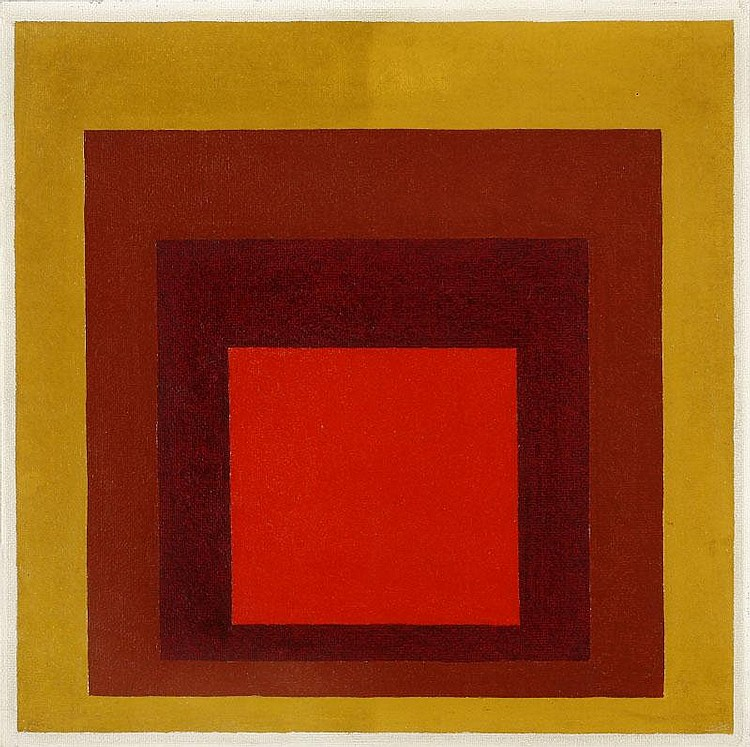 ARTIST: Josef Albers (1888-1976) TITLE: Hommage to