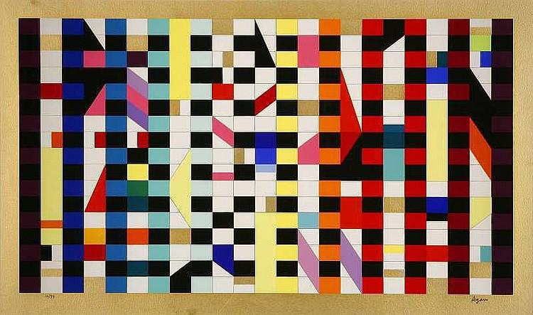 ARTIST: Agam(1928-) TITLE: Untitled 2works