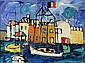 Paul Aizpiri (1919-): SAINT-TROPEZ BAY, Paul Augustin Aizpiri, Click for value