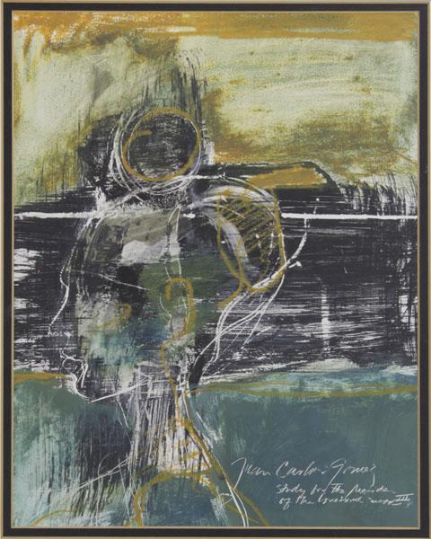 Juan Carlos Gomez de la Vega Argentinean-American (Contemporary) Gouache