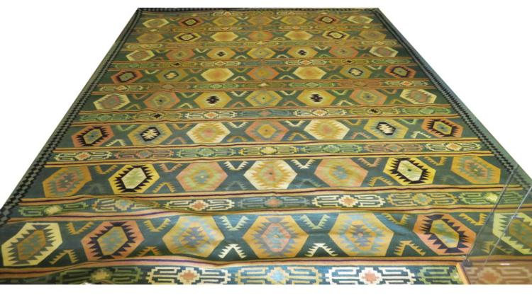 Hand woven navajo style native american indian room size rug for Home inspired by india rug