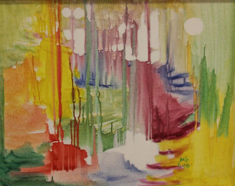 Belle Golinko American-New York (20th Century) Oil on Canvas