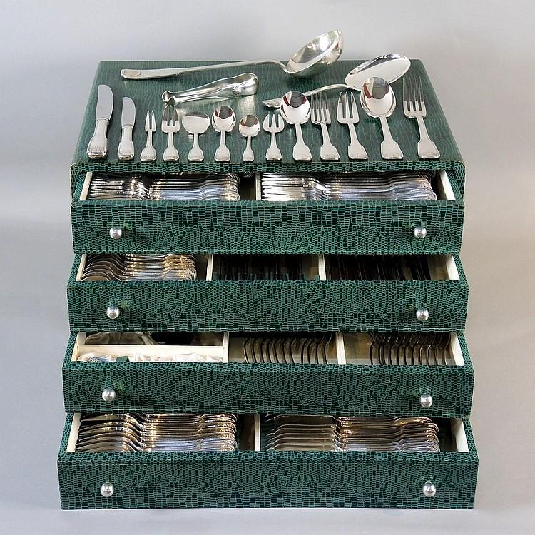 Menagere 168 pieces en coffret - Coffret couvert de table ...