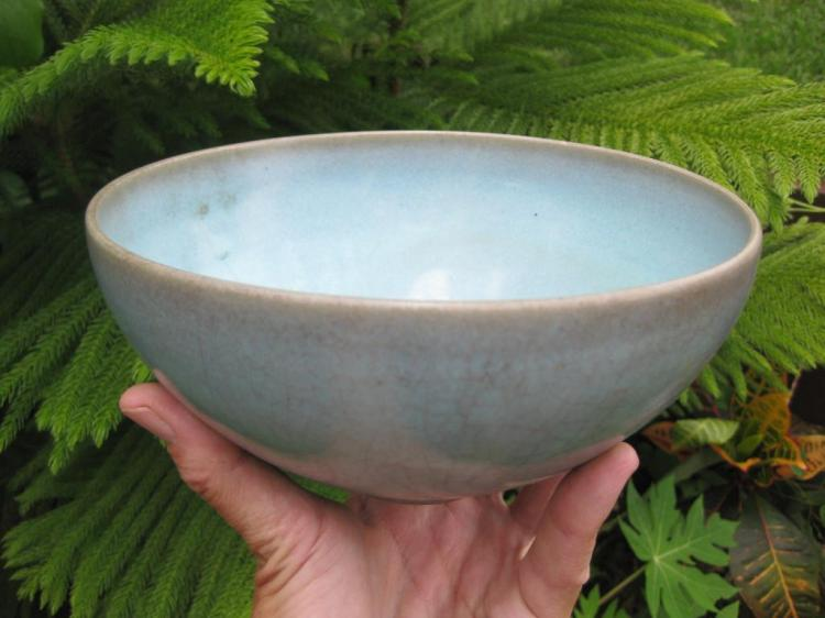 large 'JUN' turquoise bowl, attributed to SONG Dynasty