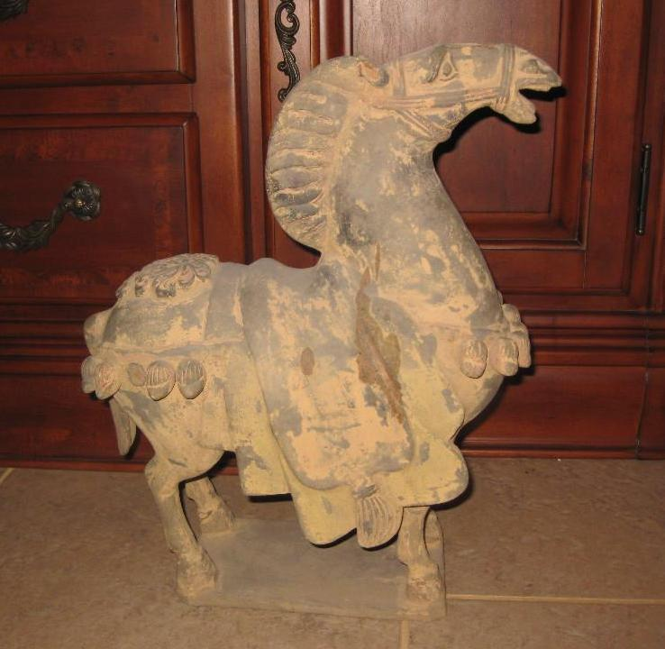 Wei/ Six dynasties 386-589AD, Chinese Terracotta Horse