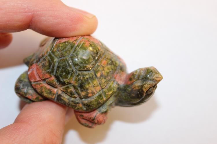 Chinese carved Jadeite turtle