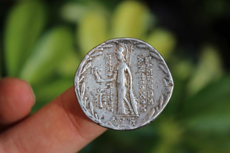 SELEUKID KINGS of SYRIA. Antiochus VII. 138-129 BC. AR Tetradrachm