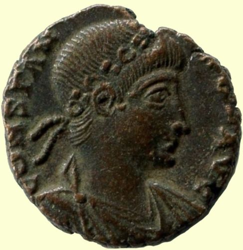 Roman coin, Ihnasyah Hoard, Rome, Constans (337AD), 11517 Constans Augustus (337-350 AD)