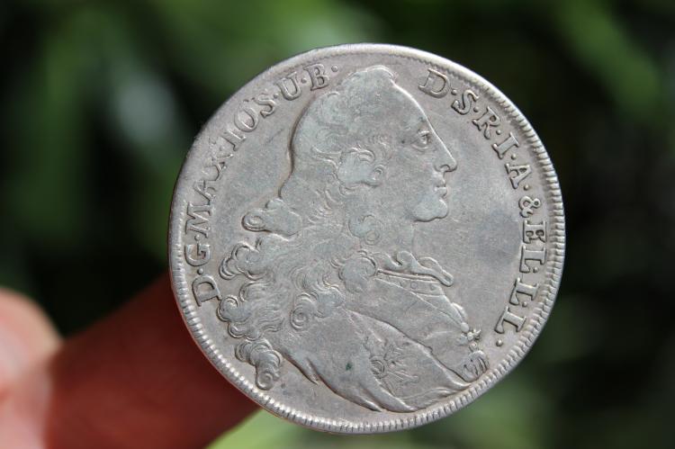 German States Bavaria Thaler, Patrona Bavariae, 1770