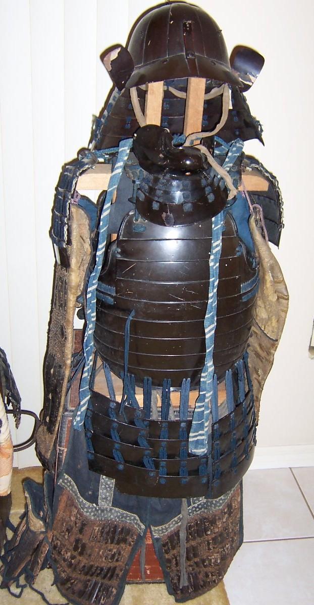 Japanese Samurai large size full armor #1: Tatami Gusoko, Edo period, ca 1600-1900