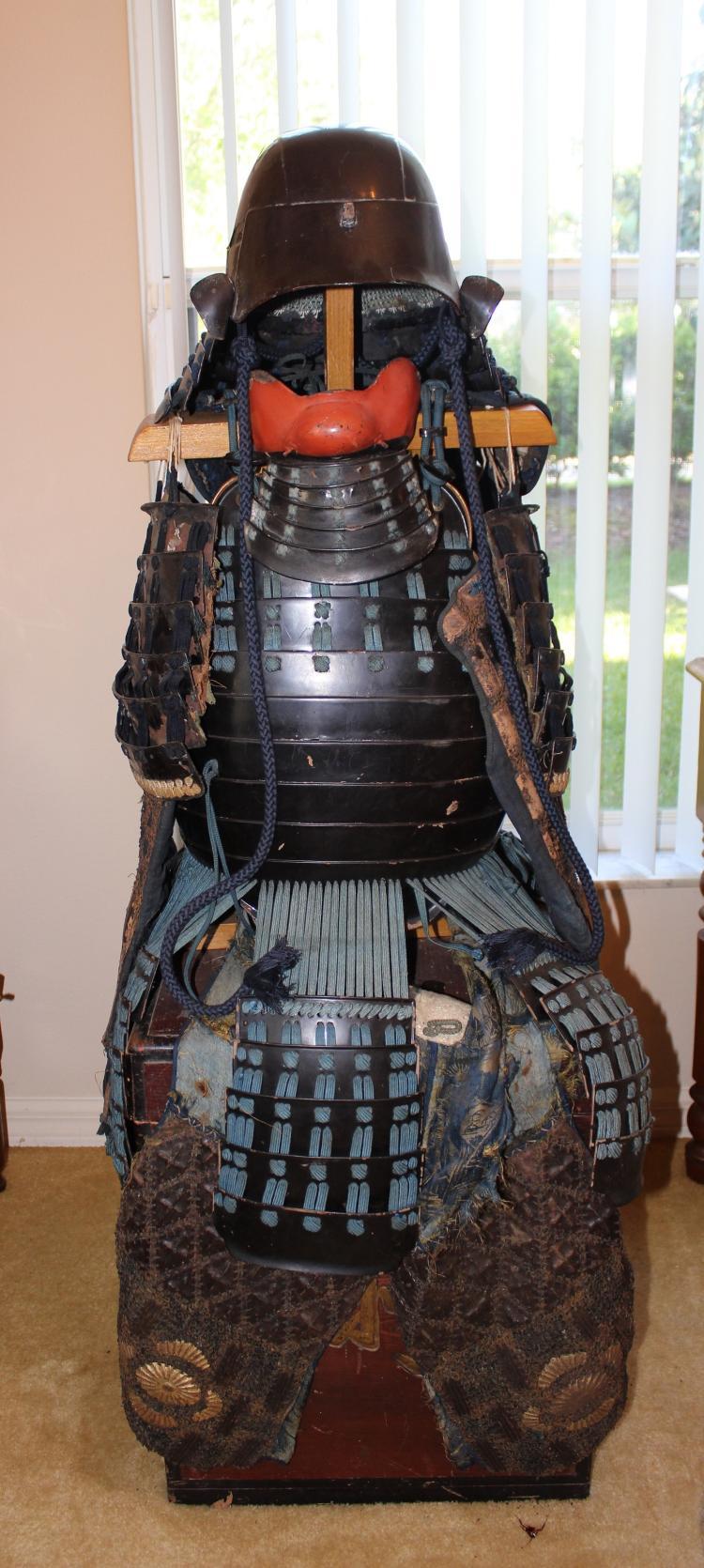 Japanese Samurai medium size full armor #3: Tatami Gusoko, Edo period, ca 1600-1900