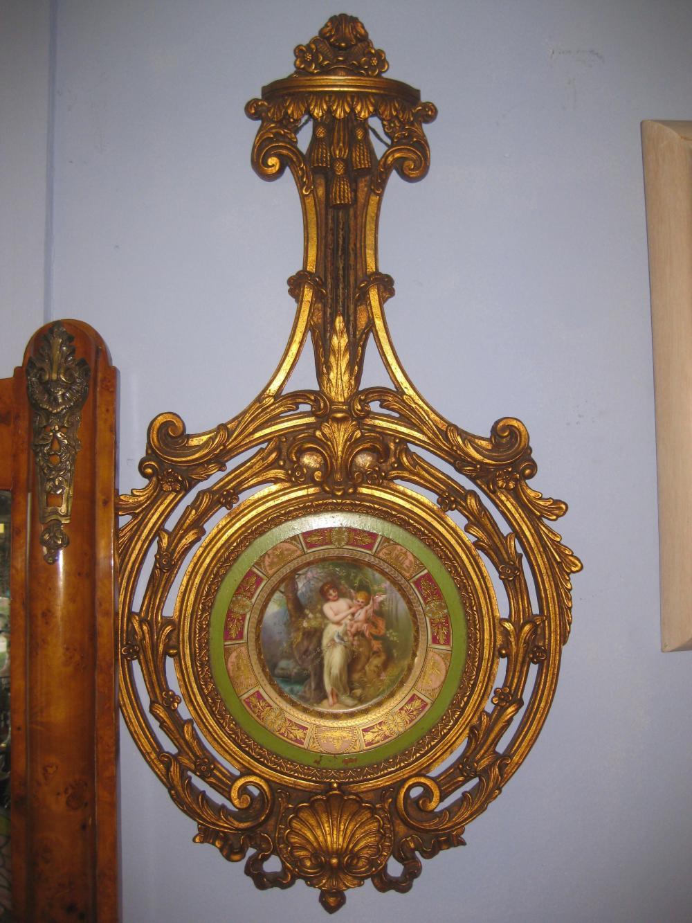 Royal Vienna porcelain plate, Ackerman & Fritze 19th c