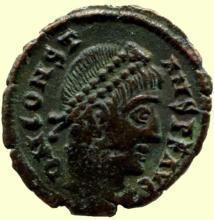 SPC Ihnasyah Hoard, Alexandria, Constans, Royal Ontario Museum 11476