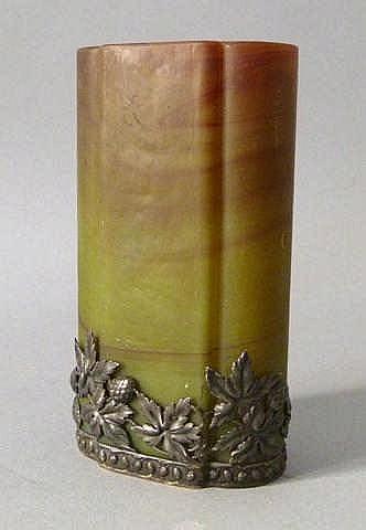 clichy vase en p 226 te de verre