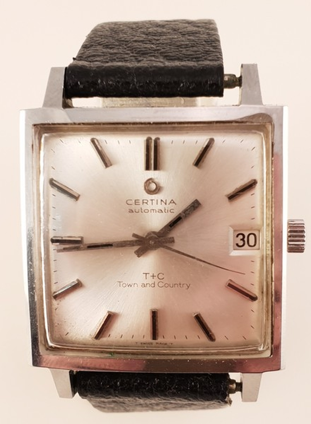 Certina Automatic, Model: T+C Town and Country  Herrenarmbanduhr, Stahl,