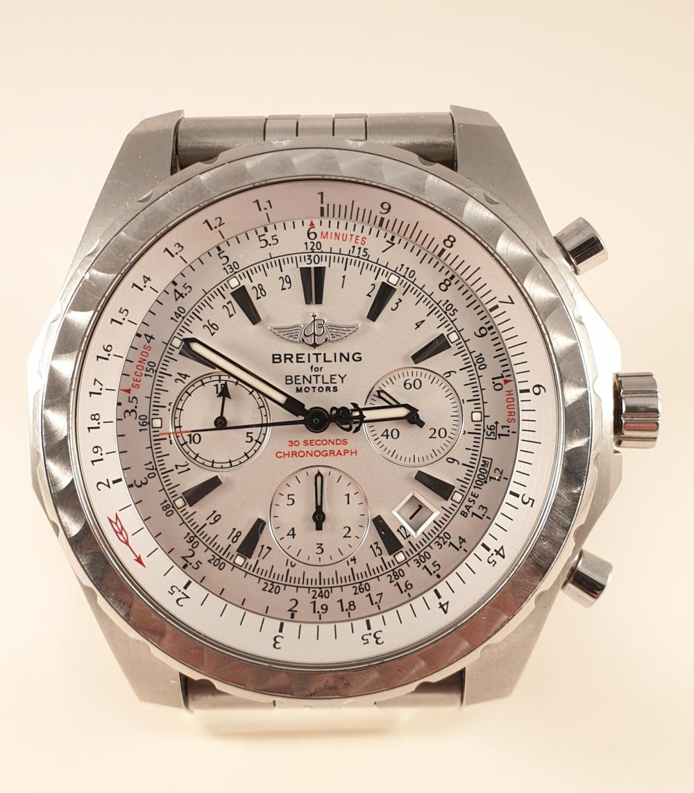 Breitling Bentley Motors T-Speed, Automatic Chronograph, Stahl, ,Ref: A25363,
