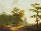Attribué à Jean François DEMAY(1798 - 1850)Un voyageur avec son âneToile24 x 32 cm(Accidents)