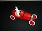 HERGE  Tintin  Milou dans la voiture rouge (boîte et certificat)